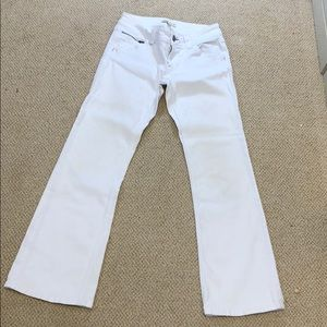 BOGO CAbi White Flare Jeans Size 4